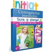 Editura Gama, Scrie si sterge Initiat, Cunoasterea mediului 5-6 ani