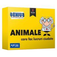 Editura Gama, Genius. Animale care fac lucruri ciudate