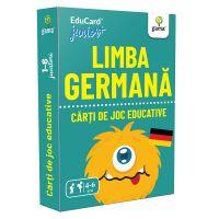 Editura Gama, Carti de joc educative Junior Plus, Limba germana
