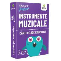 Editura Gama, Carti de joc educative Junior Plus, Instrumente muzicale