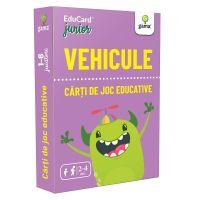 Editura Gama, Carti de joc educative Junior, Vehicule