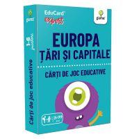 Editura Gama, Carti de joc educative Expert, Europa, Tari si capitale