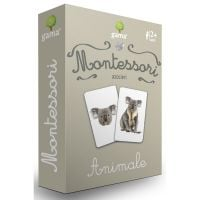Editura Gama, Carti de joc educative Montessori Seria 1, Asocieri, Animale