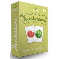Editura Gama, Carti de joc educative Montessori Seria 1, Asocieri, Legume si fructe