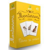 Editura Gama, Carti de joc educative Montessori Seria 2, Vocabular, Caini si pisici
