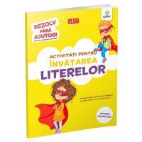 Activitati pentru invatarea literelor 3-5 ani. Rezolv fara ajutor!