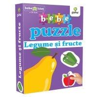 Editura Gama, Bebe Puzzle, Legume si fructe