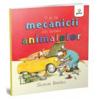 GM8195_001w O zi cu mecanicii din lumea animalelor, Sharon Rentta