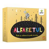Carte Editura Gama, Alfabetul. Cartoane de perete educative si decorative