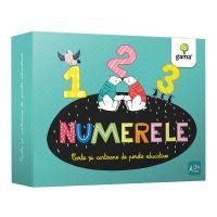 Carte Editura Gama, Numerele, Cartoane de perete educative si decorative
