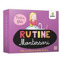 Carte Editura Gama, Rutina zilnica Montessori pentru fetite. Cartoane de perete educative si decorative