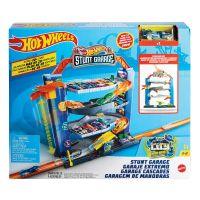 GNL70_001w Set de joaca Hot Wheels, Garajul cu cascadorii