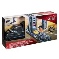 FRJ07_003w Set de joaca Mega Transportatorul Disney Cars, Jackson Storm Launching, GPD93