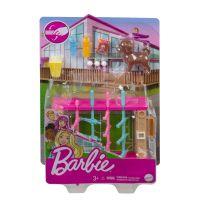 GRG75 GRG77 Set de joaca Barbie, Mobilier exterior si catelus, GRG77