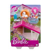 GRG75 GRG78 Set de joaca Barbie, Mobilier exterior si catelus, GRG78