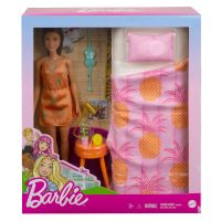 GTD87 GRG86 Set papusa Barbie si accesorii pentru dormitor, GRG86