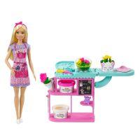 GTN58_001w Papusa Barbie Career, Florarie GTN58