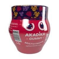 Gummy Multivitamine, 3 arome, 30 buc, Akadika