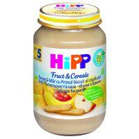 Gustare HiPP cu orez, mere si banane