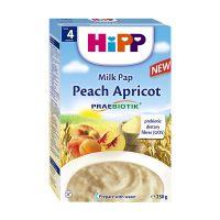 H113638_001w Cereale cu piersici si caise Hipp, 250 g, 4 luni+