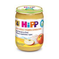 H133537_001w Hipp mar, piersica cu orez, 190g, 4 luni+