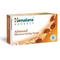 HI 1593_001w Sapun solid hranitor cu migdale Himalaya, 75 g