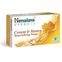 HI 1609_001w Sapun solid cu crema si miere Himalaya, 75 g