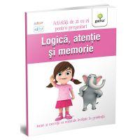 Carte Editura Gama, Logica, atentie si memorie 3-4 ani, Activitati de zi cu zi