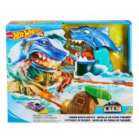 Hot Wheels - Set De Joaca Batalia Rechinului