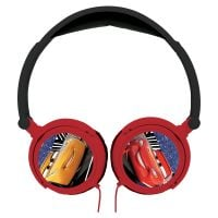 HP010DC_001w Casti audio cu fir pliabile, Disney Cars
