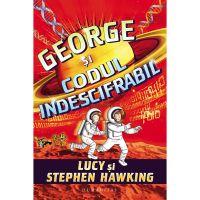 HU001066-1_001w Carte Editura Humanitas, George si codul indescifrabil, Stephen Hawking