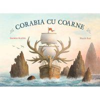 HU002700-1C_001w Carte Editura Humanitas, Corabia cu coarne, Terry Fan