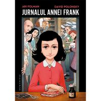 HU002808-1_001w Carte Editura Humanitas, Jurnalul Annei Frank (roman grafic), Ari Folman