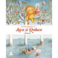 HU002825-1C_001w Carte Editura Humanitas, Povesti zapacite cu Luca si Raluca, Clotilde Perrin