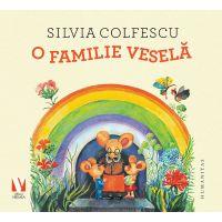 HU002943-1C_001w Carte Editura Humanitas, O familie vesela, Silvia Colfescu