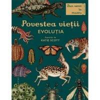 HU002951-1C_001w Carte Editura Humanitas, Povestea vietii Evolutia, Fiona Munro