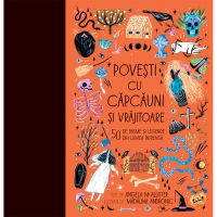 HU002962-1C_001w Carte Editura Humanitas, Povesti cu capcauni si vrajitoare, Angella Mc Allister