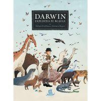 HU002996-1_001w Carte Editura Humanitas, Darwin Expeditia pe Beagle, Fabien Grolleau