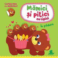 HU003015-1_001w Carte Editura Humanitas, Mamici si pitici cu lipici. In padure, Ilona Bumblauskiene