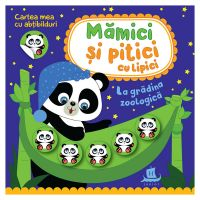 HU003016-1_001w Carte Editura Humanitas, Mamici si pitici cu lipici. La gradina zoologica, Ilona Bumblauskiene