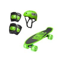 IGN-COM-TYR-GRE_001w Skateboard si echipament de protectie Ignite, Verde