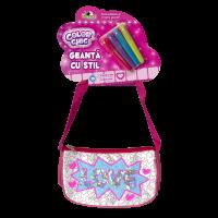 INT0083_001w Geanta cu stil cu paiete reversibile - Color Chic