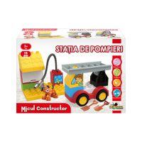 INT0991_001w Jucarie de constructie Statia de Pompieri, Micul Constructor