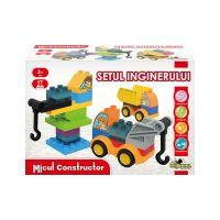 INT1004_001w Jucarie de constructie Setul inginerului, Micul Constructor