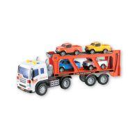 INT1523_001w Transportor cu 4 masinute cu lumini si sunete Cool Machines
