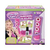INT1684_001w Set de creatie Manichiura cu sclipici, Color Chic