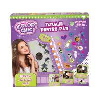 INT1875_001w Set de creatie Tatuaje pentru par, Color Chic