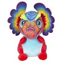 INT1998_001w Jucarie de plus Noriel, Dragon cu urechi, Multicolor, 40 cm