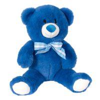 INT2216_001w Jucarie de plus Noriel, Ursulet, Albastru, 32 cm