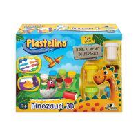 INT2759_001w Set de modelare Plastelino, Dinozauri 3D